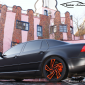 VW Phaeton 20 zoll oz wheels mattschwarz hundertwasser