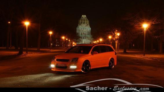 Opel Vectra Electric Orange