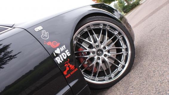 Audi A6 Barracuda Seite