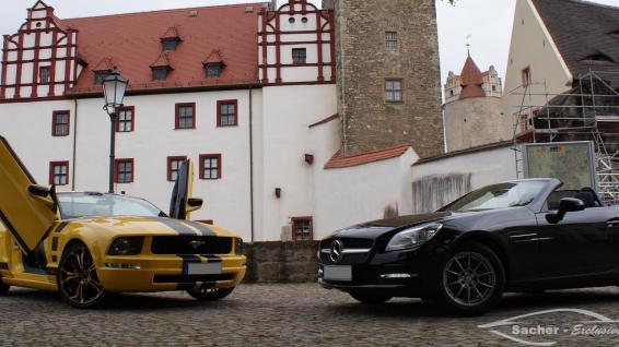 Mustang vs. SLK