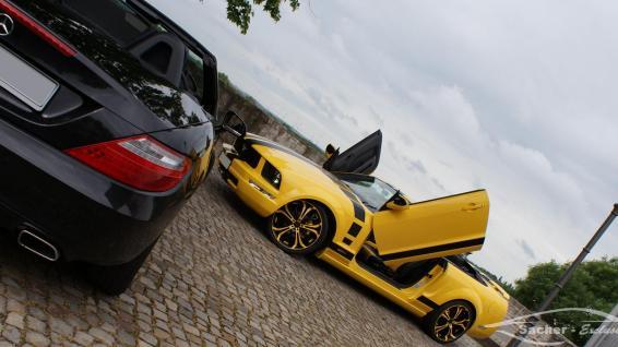Mustang vs. SLK 2
