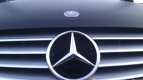 Mercedes CLK CArbon Folie